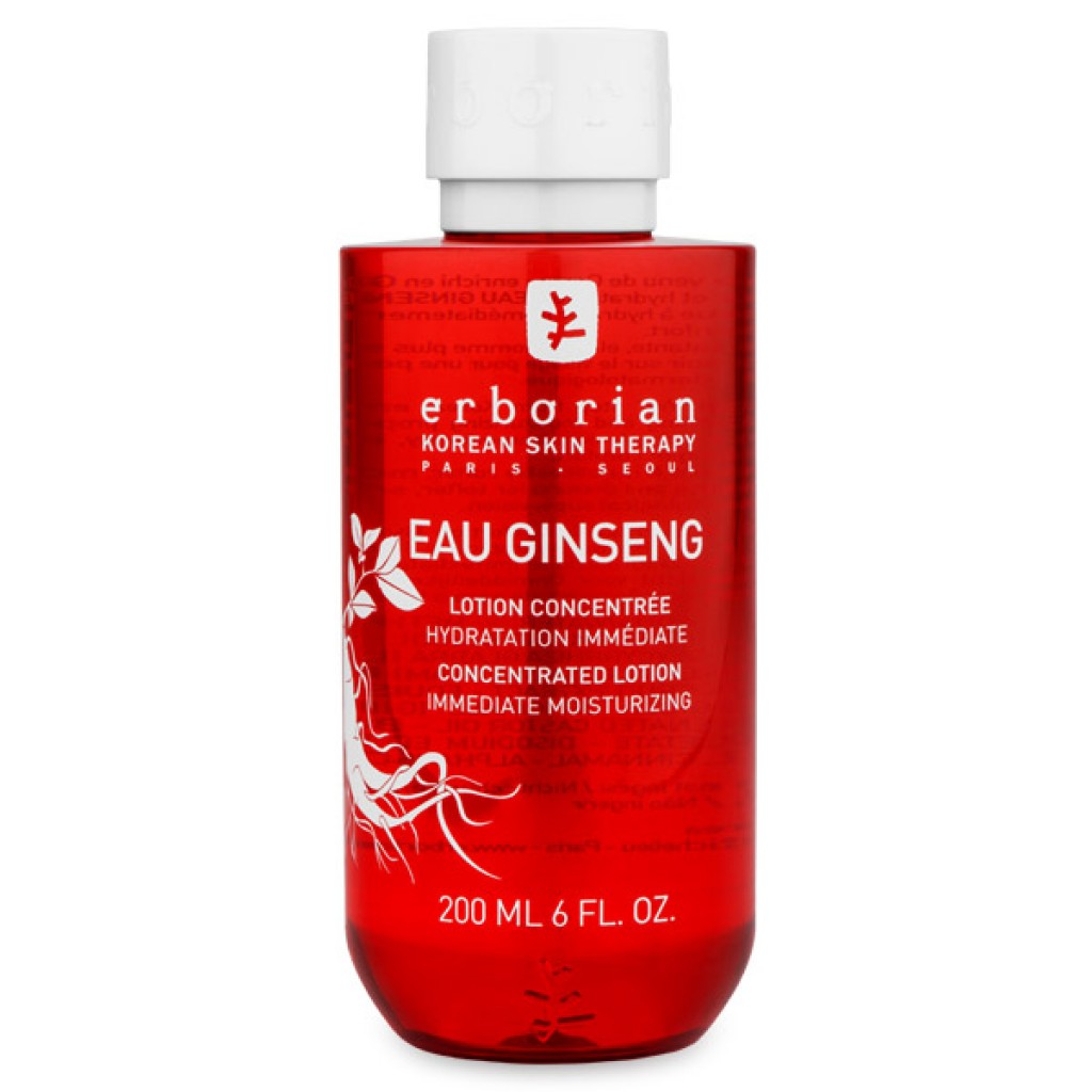 erborian eau ginseng concentrated lotion instant moisture. Black Bedroom Furniture Sets. Home Design Ideas