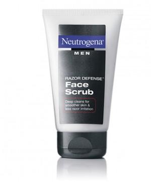 Neutrogena Men Razor Defense Face Scrub