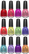 Nail Polish Product Lite Brites Collection for Summer 2016