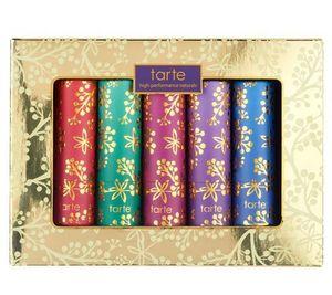 Tarte Kiss & Makeup 5-piece Holiday Amazonian Butter Lipsticks