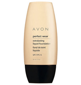 Avon PERFECT WEAR Extralasting Liquid Foundation SPF 15