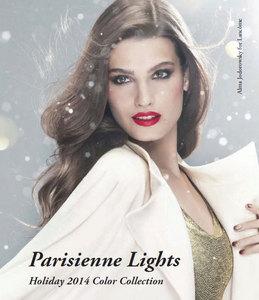 Lancôme Parisienne Lights Holiday 2014 Makeup Collection