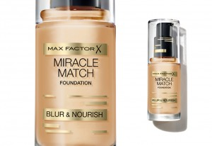 Max Factor introduces the Miracle Match Foundation