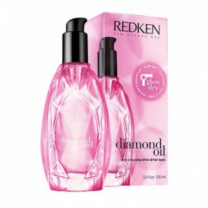 Redken introduces Diamond Oil Glow Dry