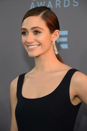 TRESemmé Celebrity Stylist John D. on how to create Emmy Rossum's Critics' Choice Awards hairstyle