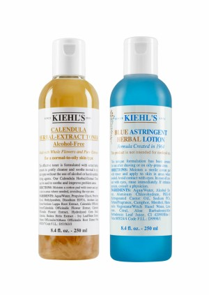 Kiehl's Toners as Post-Shave Healing Lotions
