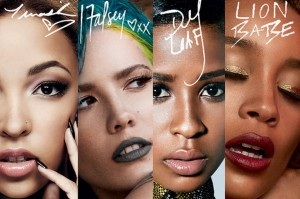MAC Future Forward Collection feat. Halsey, Tinashe, Lion Babe and Dej Loaf