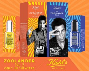 Kiehl's partners with Derek Zoolander for two limited edition Zoolander sets