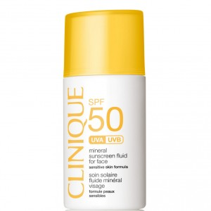 Clinique Mineral Sunscreen Collection for Summer 2016