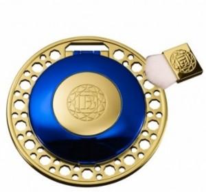 Les Diamants Bleus Collection Royale. Powder as a Jewel.