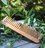 Wood made comb without handle