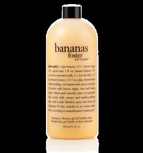 Bananas Foster Ice Cream Shampoo Shower Gel Amp Bubble Bath