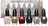 Glimmer Wonderland Six Piece Mini Nail Colour Set