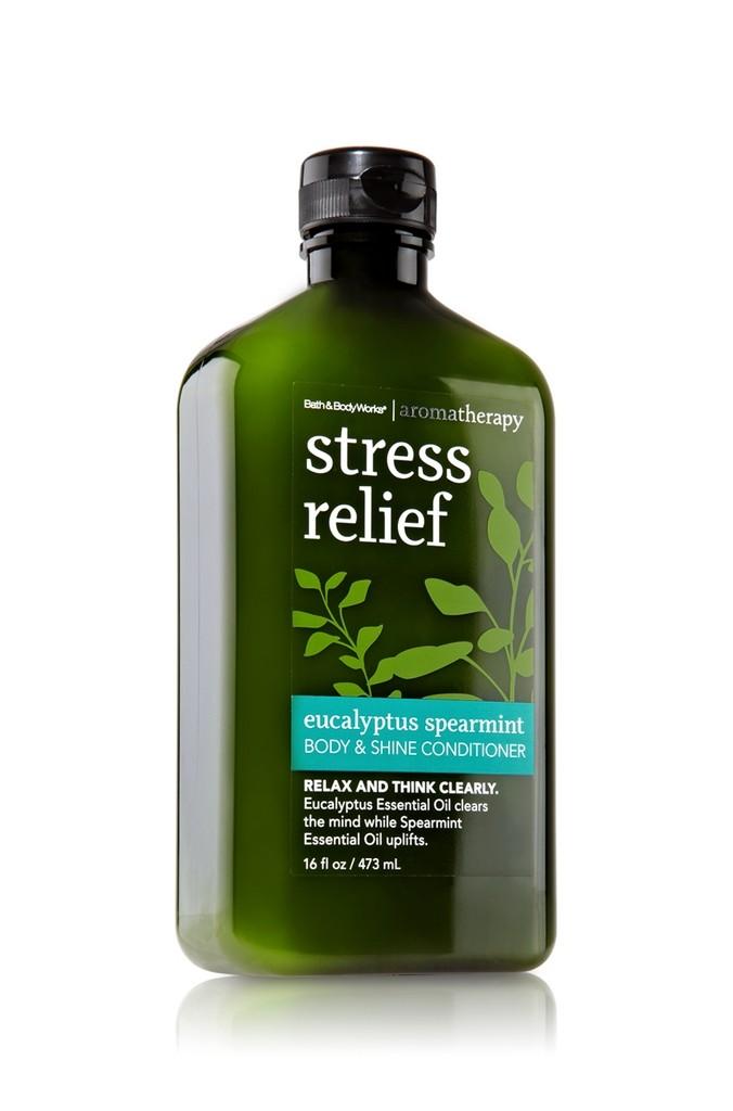 Bath Amp Body Works Stress Relief Eucalyptus Spearmint