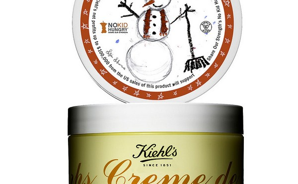 Kiehl's Crème de Corps Grapefruit and Coriander for No Kid Hungry