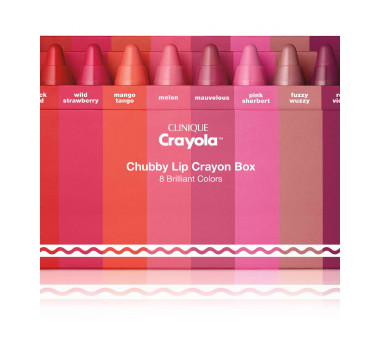 Clinique Crayola for Clinique Limited-Edition Set of 8 Minis