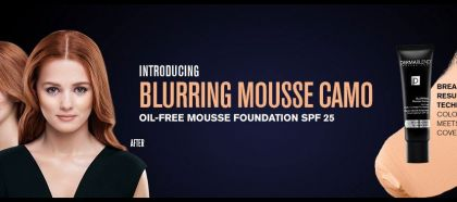Dermablend introduces the Blurring Mousse Camo Foundation