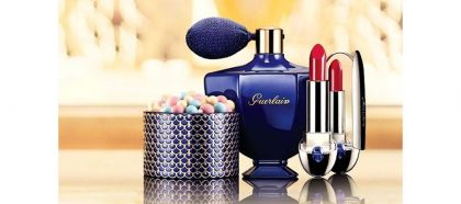 Guerlain x Natalia Vodianova Shalimar-themed Collection for Holiday 2016