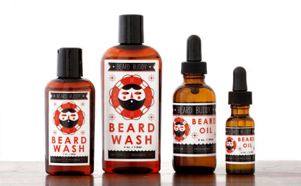 Beard Buddy Beard Wash & Beard Oil Tames Unruly Facial Hair
