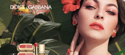 Dolce & Gabbana Torpical Spring Makeup Collection for Spring 2017