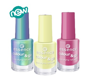 Essence Colour & Go Quick Drying Nail Polish ...