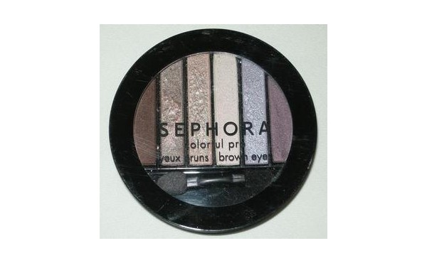 REVIEW: Sephora Collection Colorful Pro Eyeshadow Palette - Brown Eyes