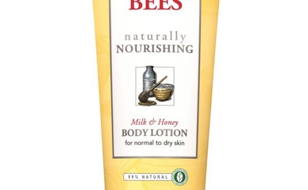 NEW Burt's Bees® Naturally Nourishing Milk and Honey Body Lotion