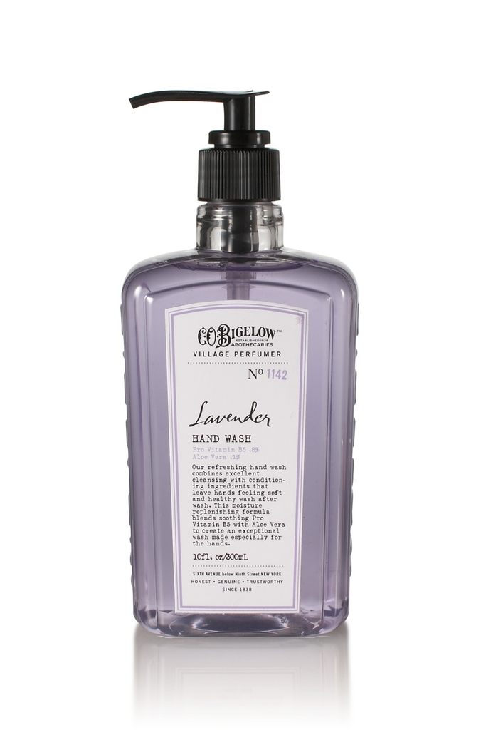 Bath body works lavender c o bigelow hand wash for Where are bath and body works products made