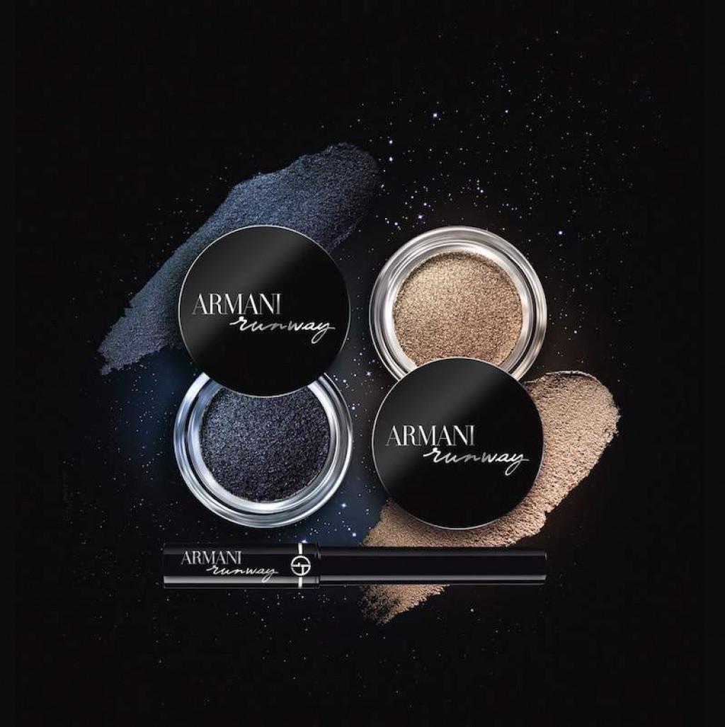 Giorgio Armani Runway Bounce Eye Shadow Gel Makeup