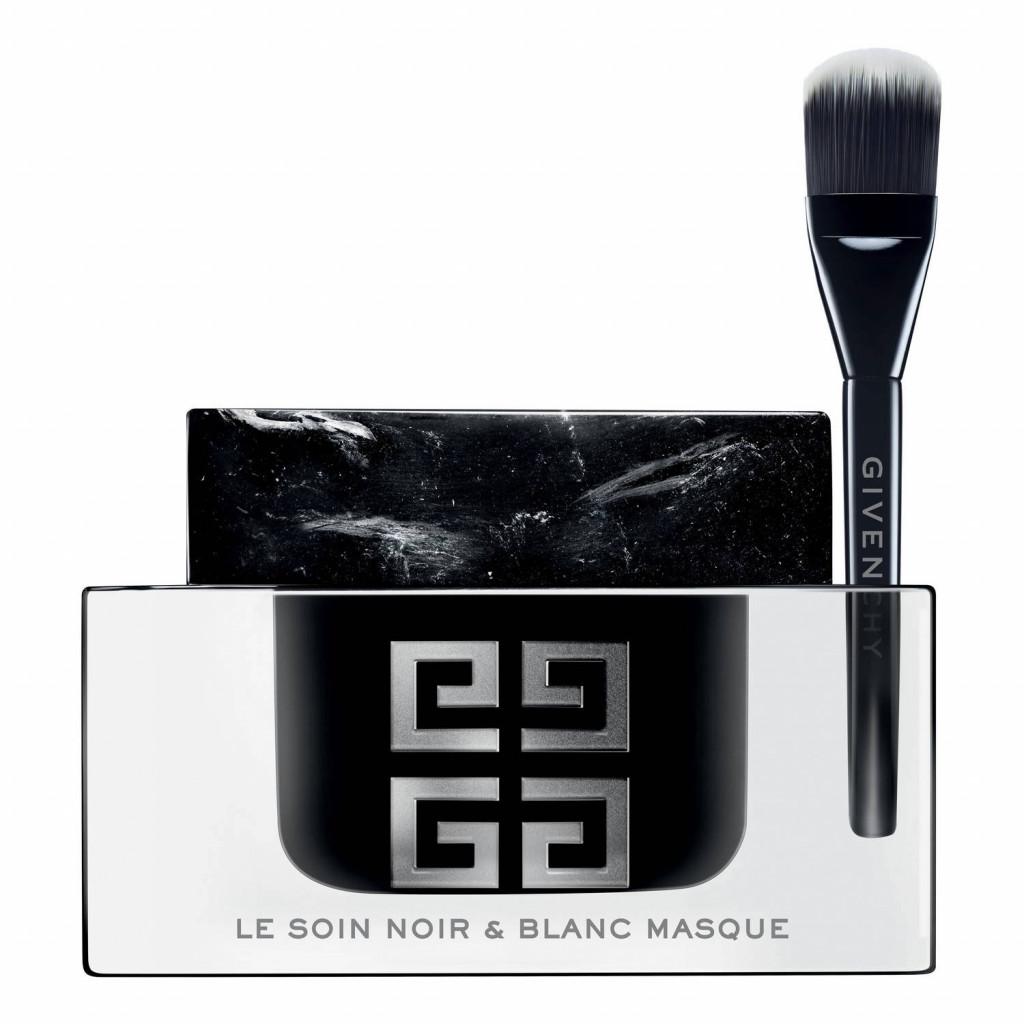 givenchy le soin noir et blanc mask skin care beautyalmanac. Black Bedroom Furniture Sets. Home Design Ideas