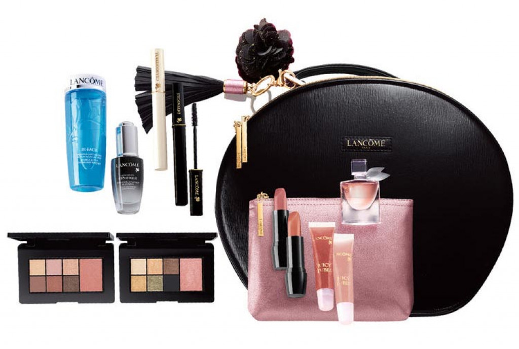 lanc me le parisian holiday case glow set beauty box makeup beautyalmanac. Black Bedroom Furniture Sets. Home Design Ideas