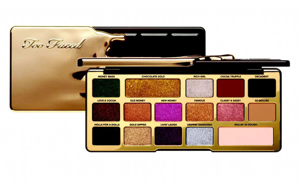 Too Faced Chocolate Gold Makeup Collection For Holiday