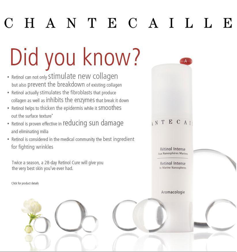 Chantecaille Retinol Intense Beneficios