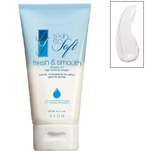 Avon Skin So Soft Fresh Smooth Shower Off Hair Removal Cream