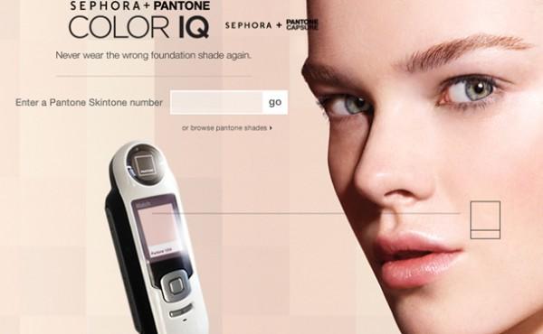 Sephora + Pantone Color IQ Foundation Matching System