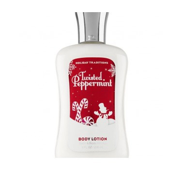 Bath & Body Works Twisted Peppermint Signature Collection Body Lotion