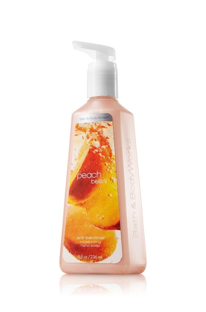 Bath Body Works Peach Bellini Anti Bacterial Moisturizing Hand