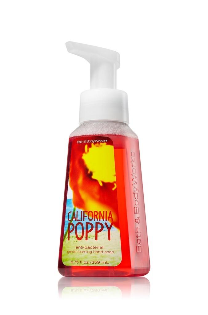 Bath Amp Body Works California Poppy Anti Bacterial Gentle