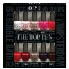 OPI Top Ten Mini Pack