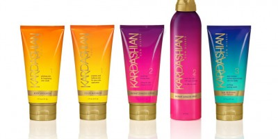 The Kardashian Sun Kissed line