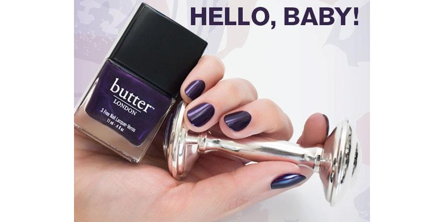 Butter London Pitter Patter Nail Lacquer for the Royal Baby