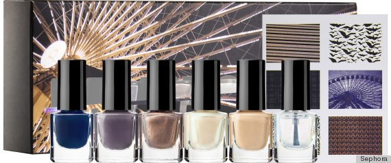 Sephora By Opi Divergent Limited Edition 7 Piece Nail Art Kit