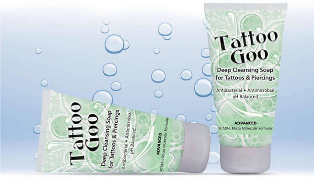 Tattoo goo deep cleansing soap makeup beautyalmanac for Good soap for tattoos