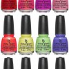 China Glaze Lite Brites Collection for Summer 2016