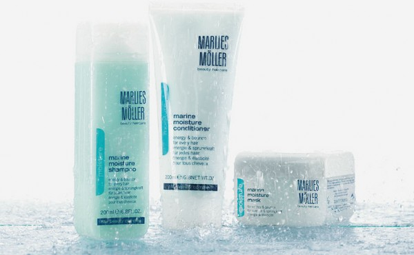 Marlies Moller Marine Moisture Hair Care | TFWA 2013