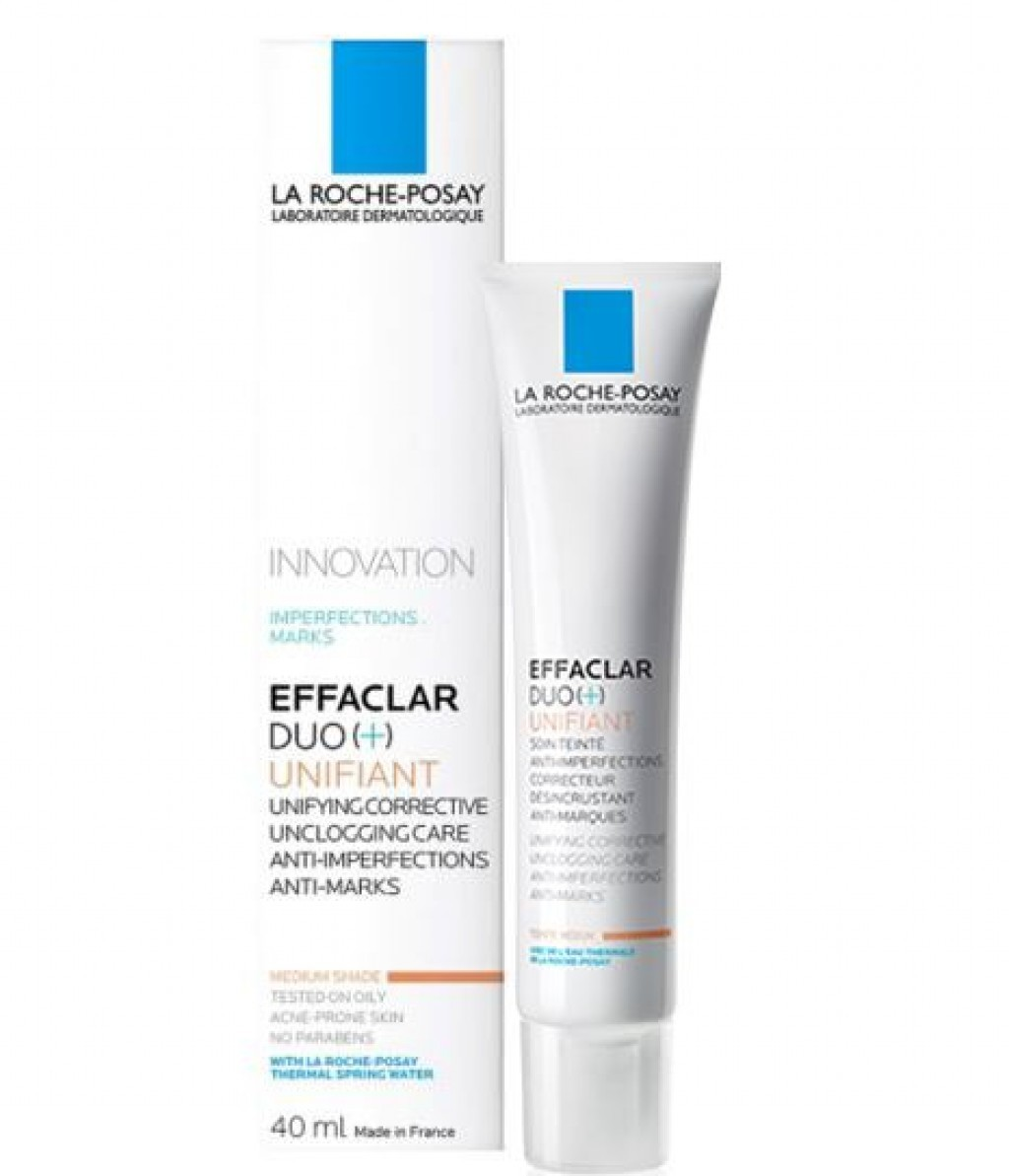 la roche posay effaclar duo unifiant skin care beautyalmanac. Black Bedroom Furniture Sets. Home Design Ideas