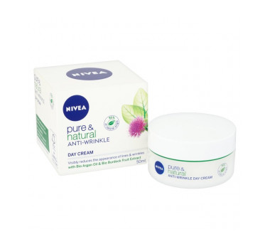 Nivea Pure & Natural Anti Wrinkle Day Cream