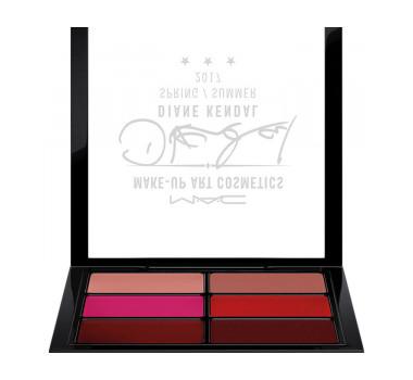 MAC Diane Kendal Enhance Me / Casual Colour Lip & Cheek X 6