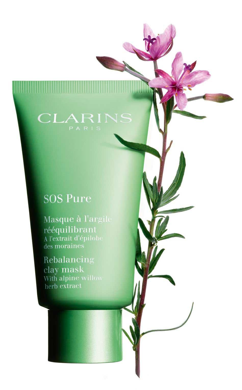 Clarins Sos Pure Mask Skin Care Beautyalmanac