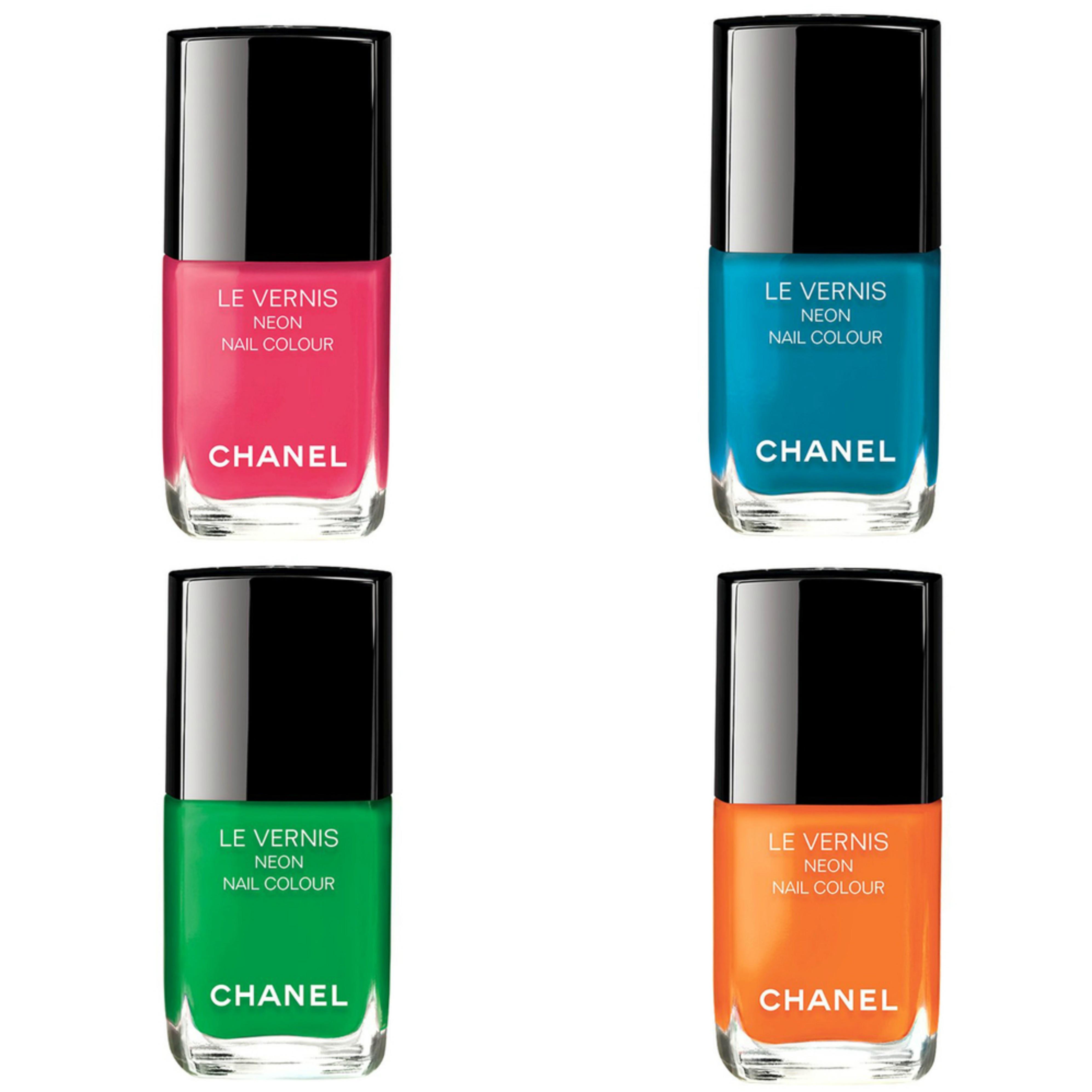 Chanel Le Vernis Neon Nail Color | Makeup | BeautyAlmanac